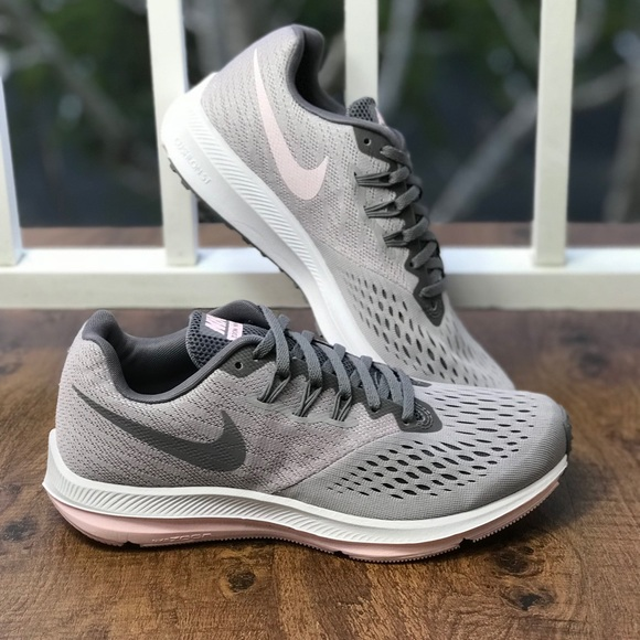 new images of reliable quality san francisco NWT Nike Zoom Winflo 4 Pink Fog WMNS NWT